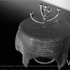 Verre Vs Cote de maille - Grande boîte baguier - Création Claire Le Sage et Pascale Lion pour Verart design - © Bruno Clergue(2)