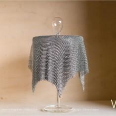 Verre Vs Cote de maille - Moyenne boîte bulle - Création Claire Le Sage et Pascale Lion pour Verart design - © Bruno Clergue(2)
