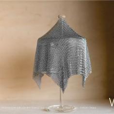 Verre Vs Cote de maille - Moyenne boîte mât - Création Claire Le Sage et Pascale Lion pour Verart design - © Bruno Clergue