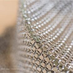 Verre Vs Cote de maille - Grande coupe - Création Claire Le Sage et Pascale Lion pour Verart design - © Bruno Clergue(2)
