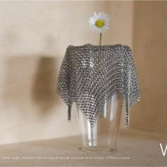 Verre Vs Cote de maille - Petite coupe - Création Claire Le Sage et Pascale Lion pour Verart design - © Bruno Clergue