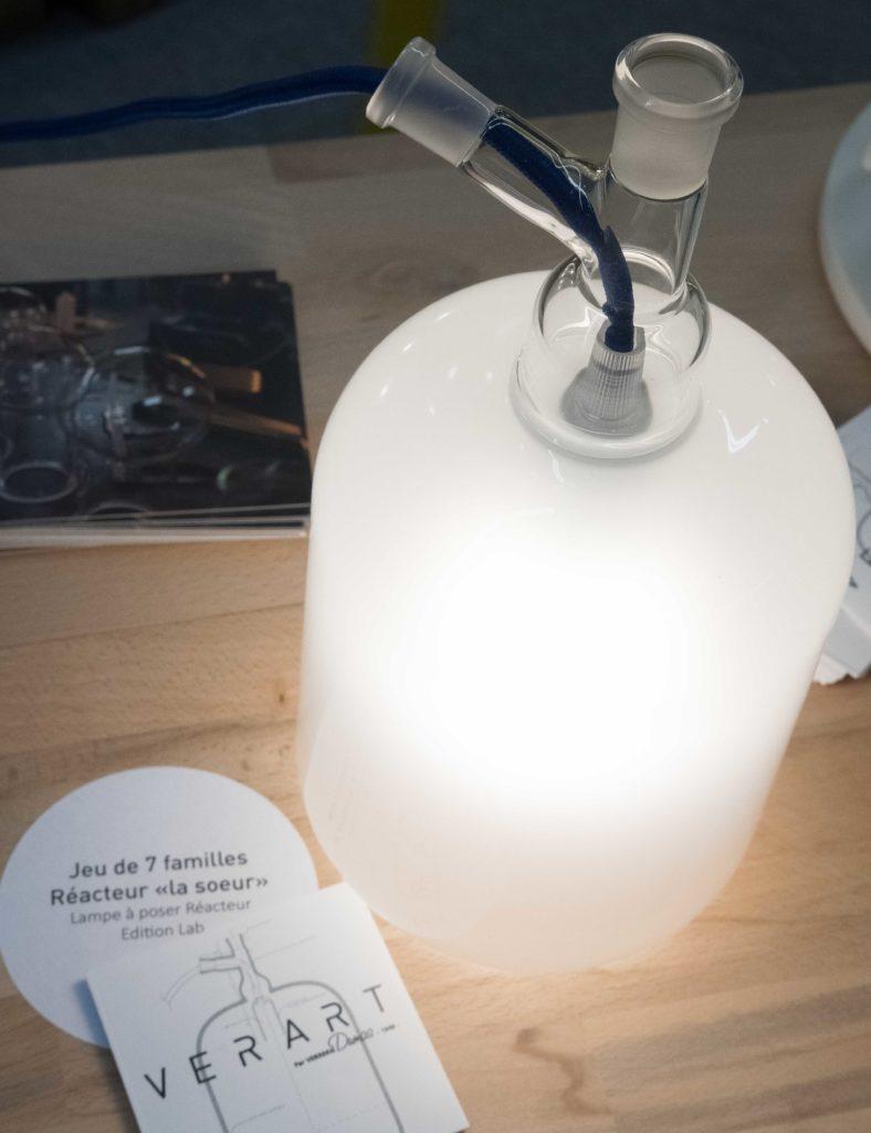 Lampe réacteurs